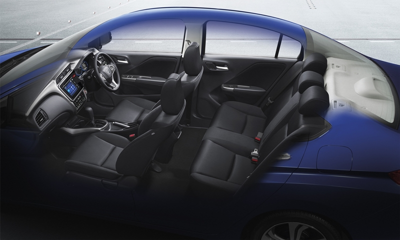 2014 Honda City launched in Thailand – two airbags and VSA standard, six airbags an option Image #223946