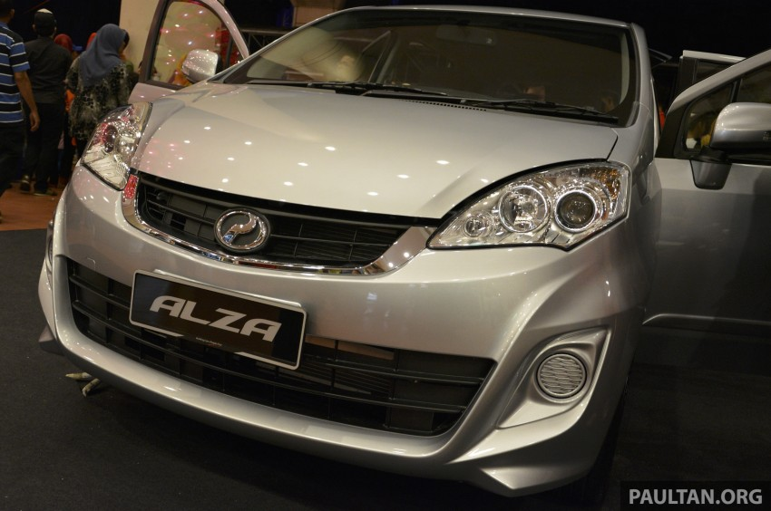 Perodua Alza facelift officially revealed, from RM52,400 Image #221485