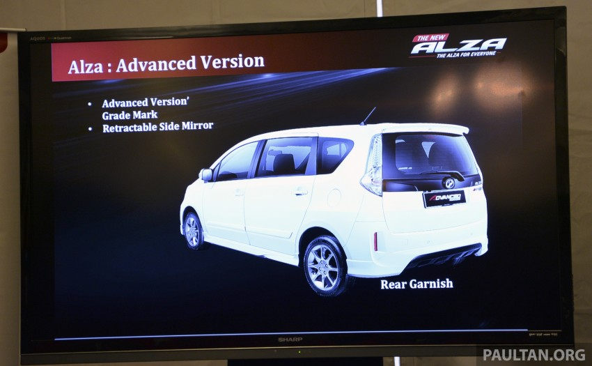 Perodua Alza facelift officially revealed, from RM52,400 Image #221443