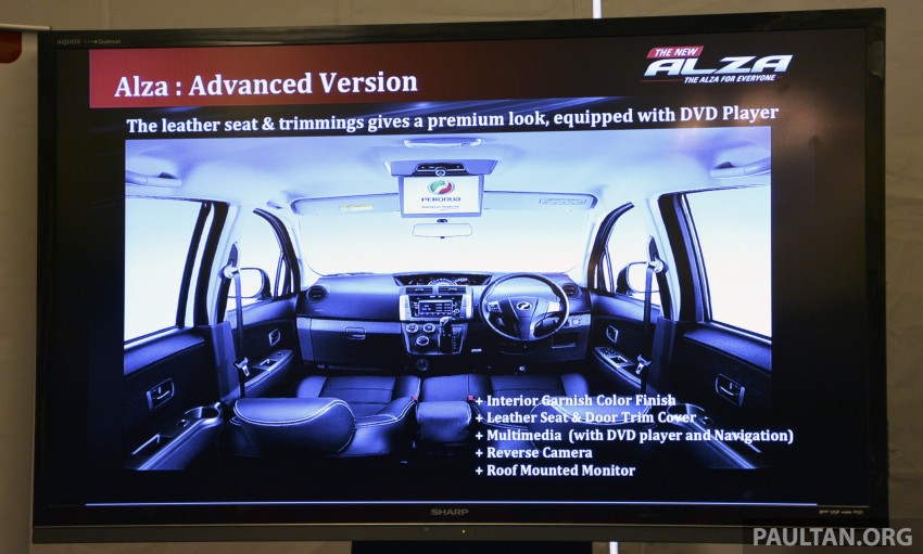 Perodua Alza facelift officially revealed, from RM52,400 Image #221444
