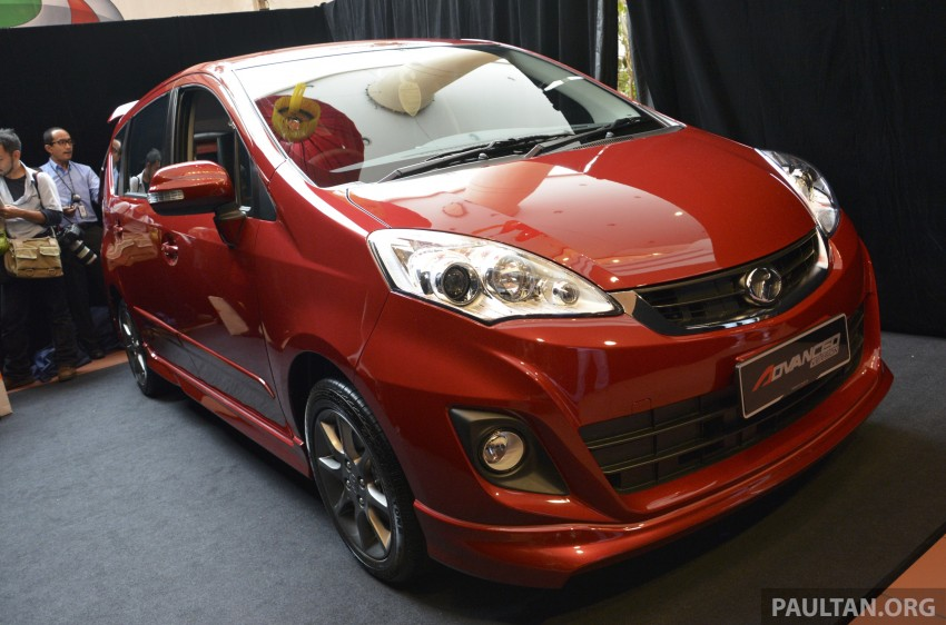 Perodua Alza facelift officially revealed, from RM52,400 Image #221445