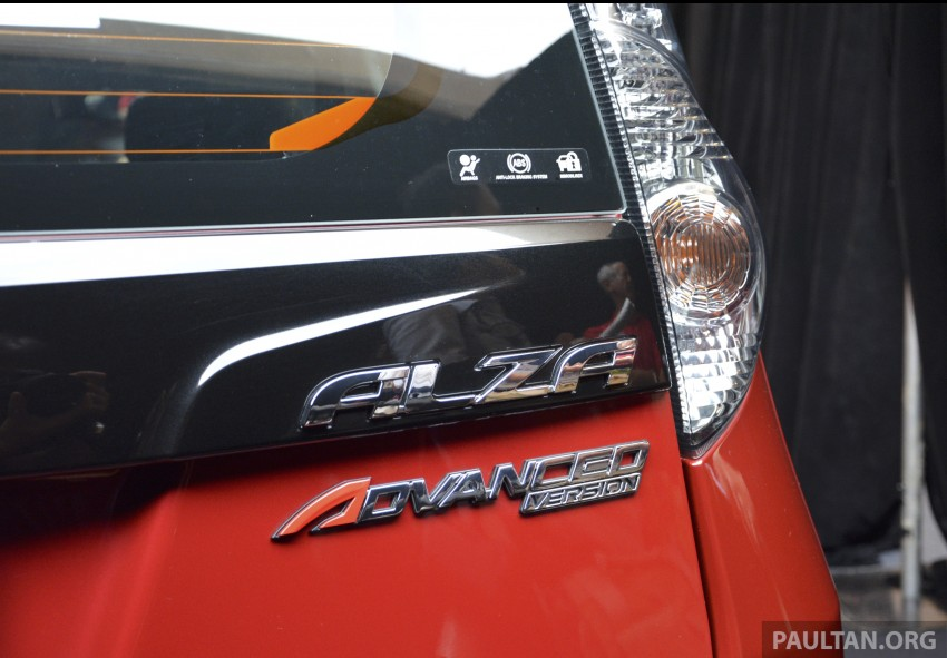 Perodua Alza facelift officially revealed, from RM52,400 Image #221450