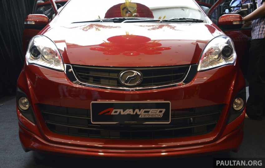 Perodua Alza facelift officially revealed, from RM52,400 Image #221460