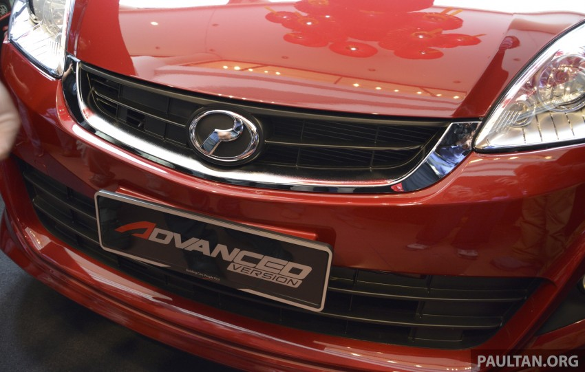 Perodua Alza facelift officially revealed, from RM52,400 Image #221464