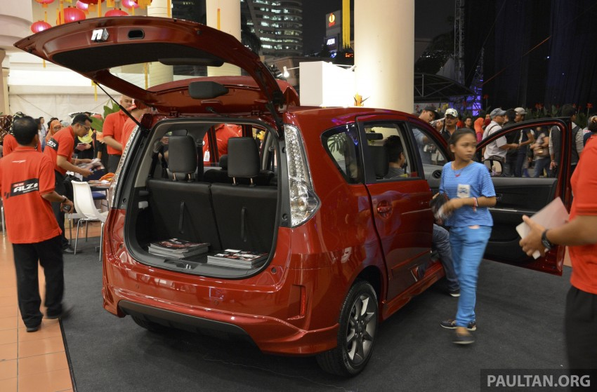 Perodua Alza facelift officially revealed, from RM52,400 Image #221488