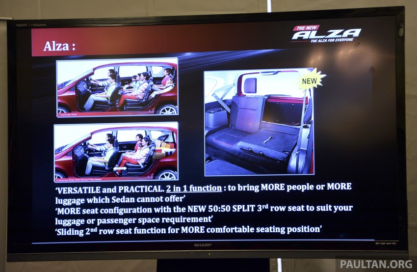 Perodua Alza facelift officially revealed, from RM52,400 Image #221471