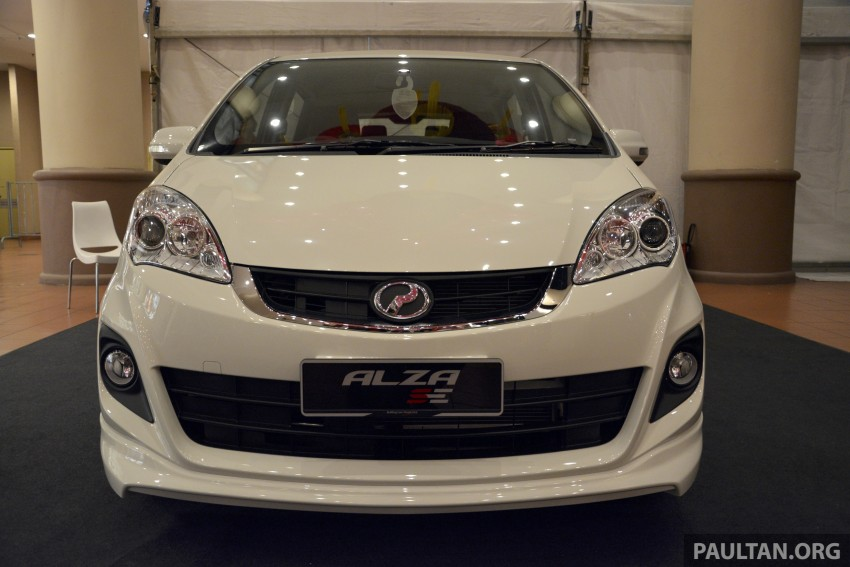 Perodua Alza facelift officially revealed, from RM52,400 Image #221491