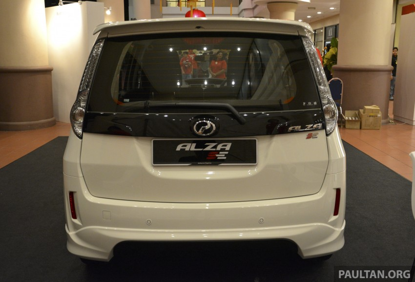 Perodua Alza facelift officially revealed, from RM52,400 Image #221492