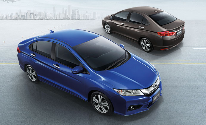 2014 Honda City launched in Thailand – two airbags and VSA standard, six airbags an option Image #223988
