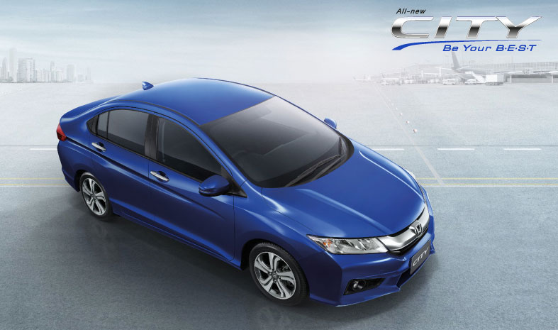 2014 Honda City launched in Thailand – two airbags and VSA standard, six airbags an option Image #223989
