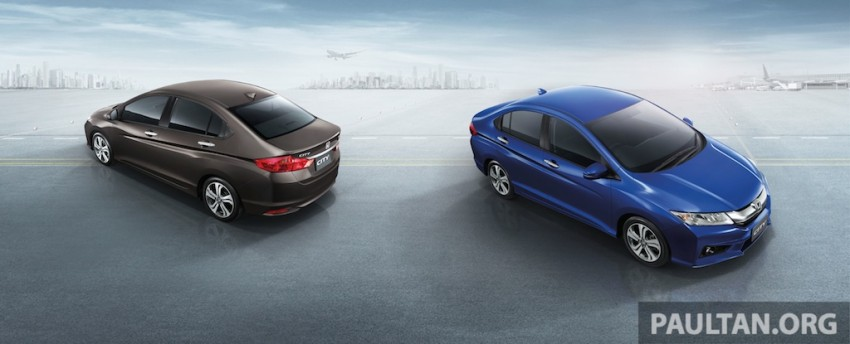 2014 Honda City launched in Thailand – two airbags and VSA standard, six airbags an option Image #224057