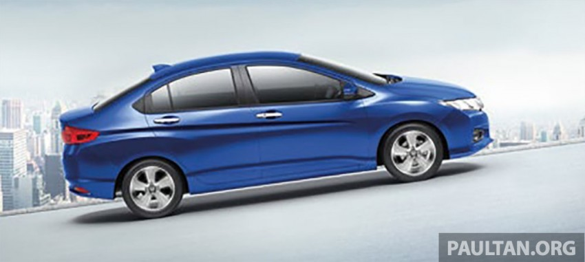 2014 Honda City launched in Thailand – two airbags and VSA standard, six airbags an option Image #224037