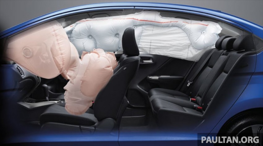 2014 Honda City launched in Thailand – two airbags and VSA standard, six airbags an option Image #224038