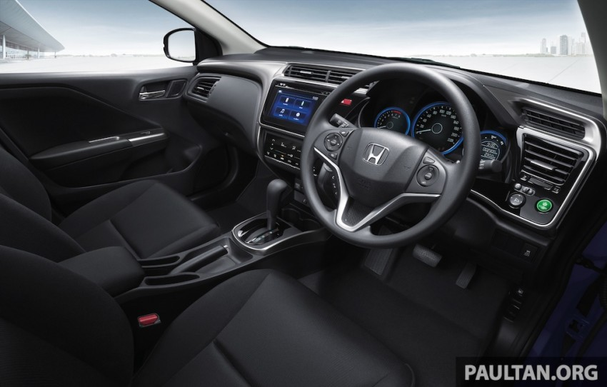 2014 Honda City launched in Thailand – two airbags and VSA standard, six airbags an option Image #224032