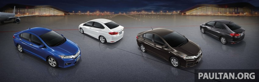2014 Honda City launched in Thailand – two airbags and VSA standard, six airbags an option Image #224017