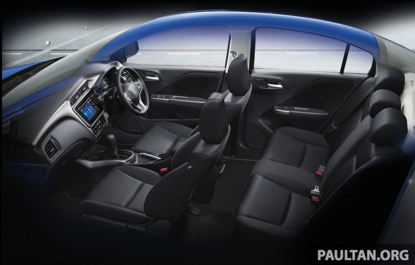 2014 Honda City launched in Thailand – two airbags and VSA standard, six airbags an option Image #224046