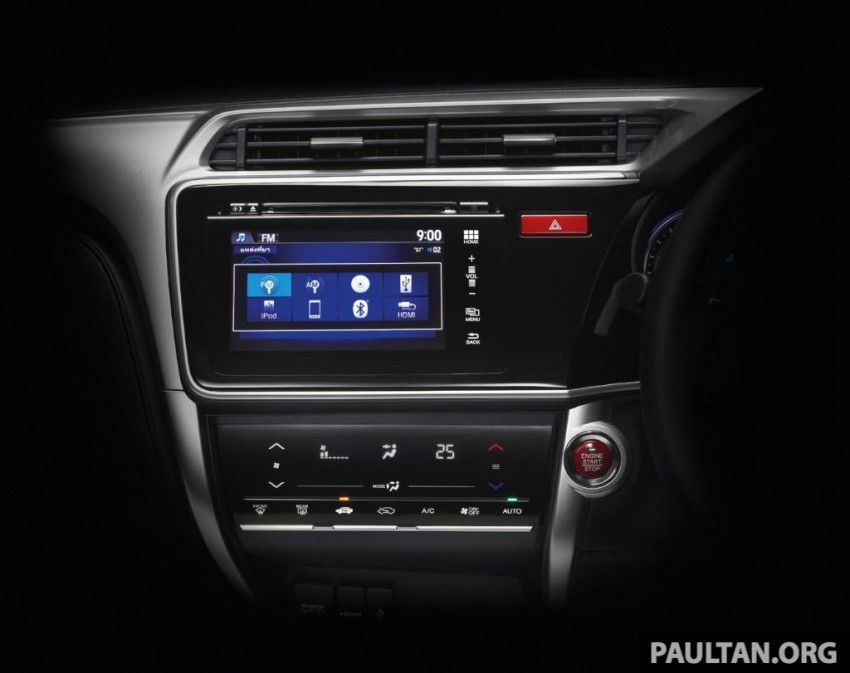 2014 Honda City launched in Thailand – two airbags and VSA standard, six airbags an option Image #224018