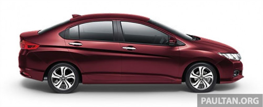2014 Honda City launched in Thailand – two airbags and VSA standard, six airbags an option Image #224020