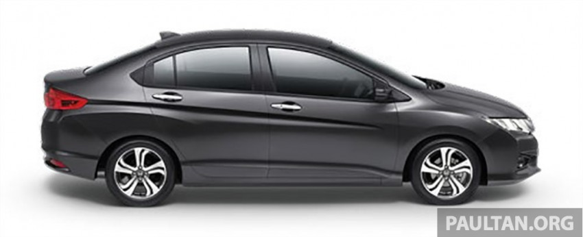 2014 Honda City launched in Thailand – two airbags and VSA standard, six airbags an option Image #224009