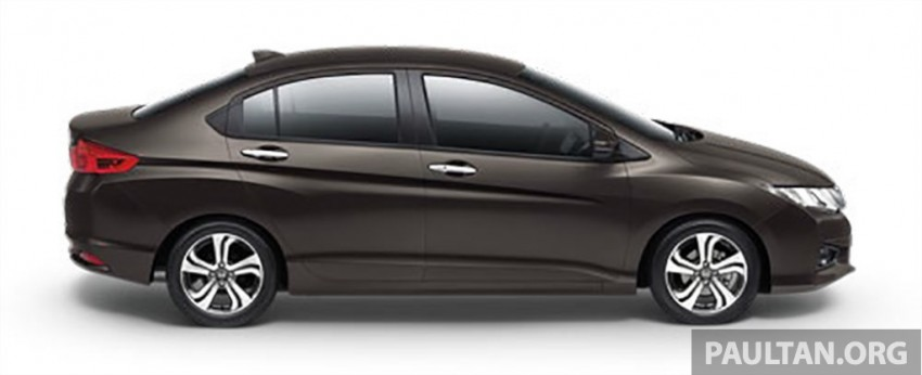 2014 Honda City launched in Thailand – two airbags and VSA standard, six airbags an option Image #224010