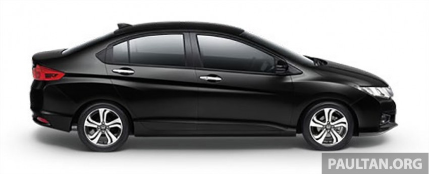 2014 Honda City launched in Thailand – two airbags and VSA standard, six airbags an option Image #224011