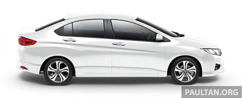 2014 Honda City launched in Thailand – two airbags and VSA standard, six airbags an option Image #224012