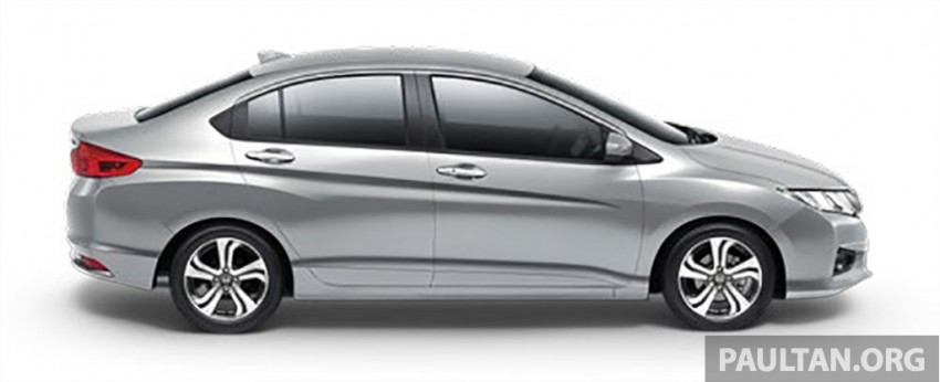 2014 Honda City launched in Thailand – two airbags and VSA standard, six airbags an option Image #224013