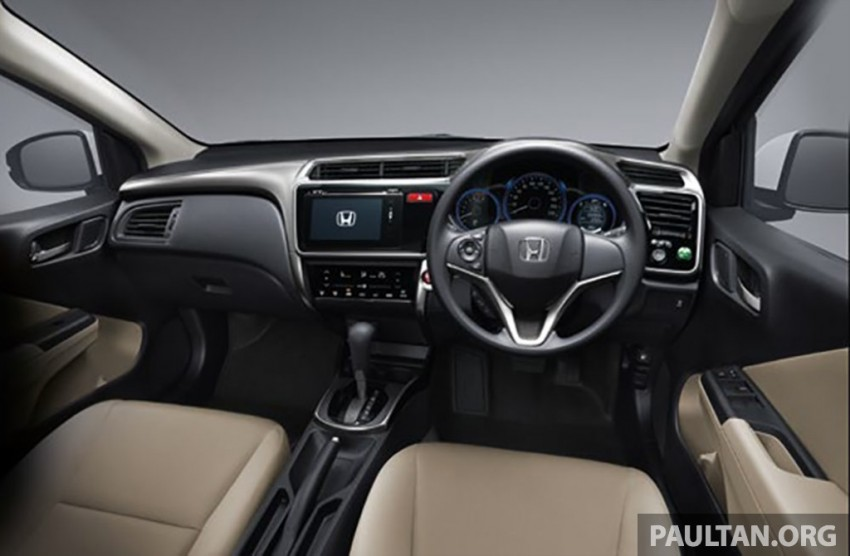 2014 Honda City launched in Thailand – two airbags and VSA standard, six airbags an option Image #224014