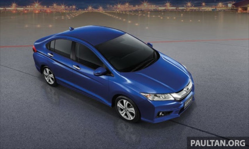 2014 Honda City launched in Thailand – two airbags and VSA standard, six airbags an option Image #224016