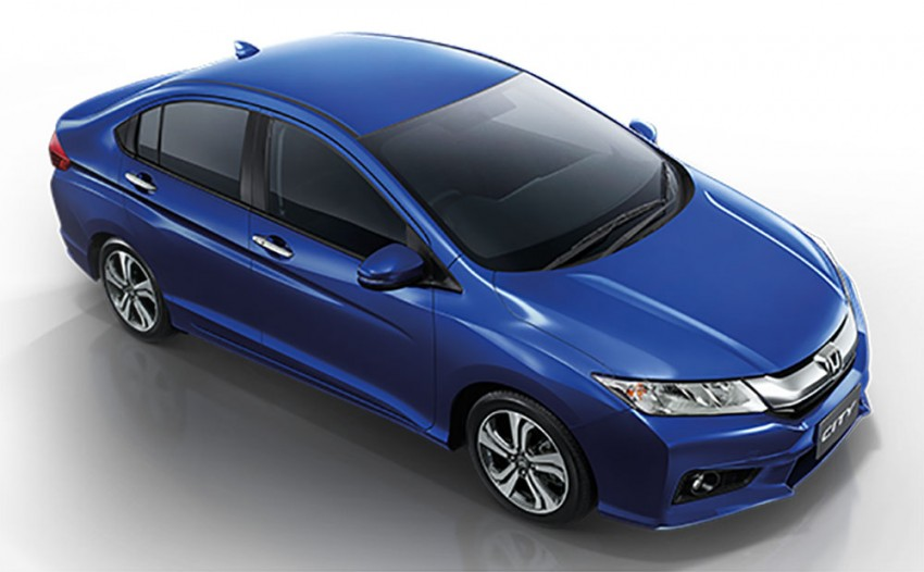 2014 Honda City launched in Thailand – two airbags and VSA standard, six airbags an option Image #223986