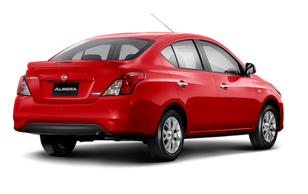 Nissan 2018 >> Nissan Almera facelift launched in Thailand Image 224917