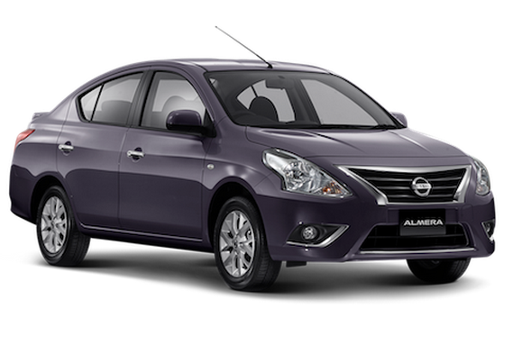 Nissan Almera facelift launched in Thailand Image #224919