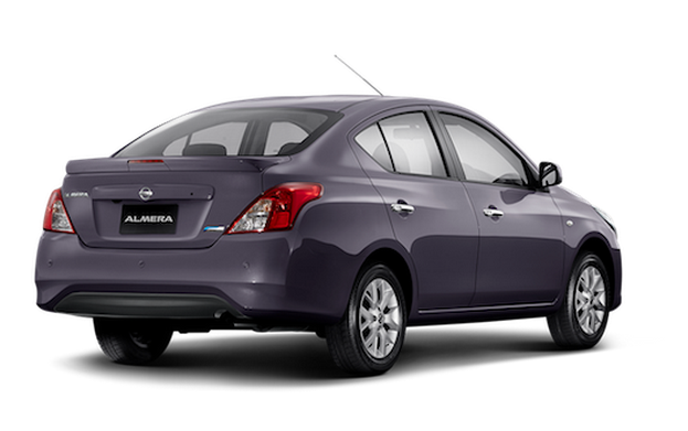 Nissan Almera facelift launched in Thailand Image #224922