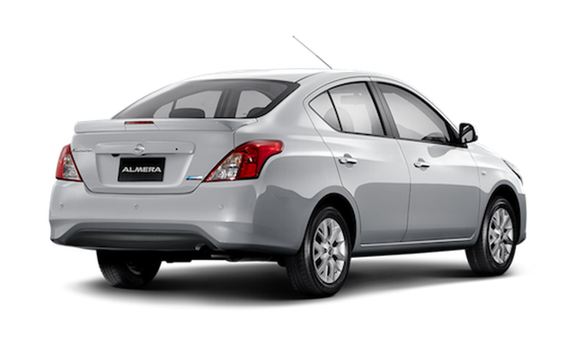 Nissan Almera facelift launched in Thailand Image #224933