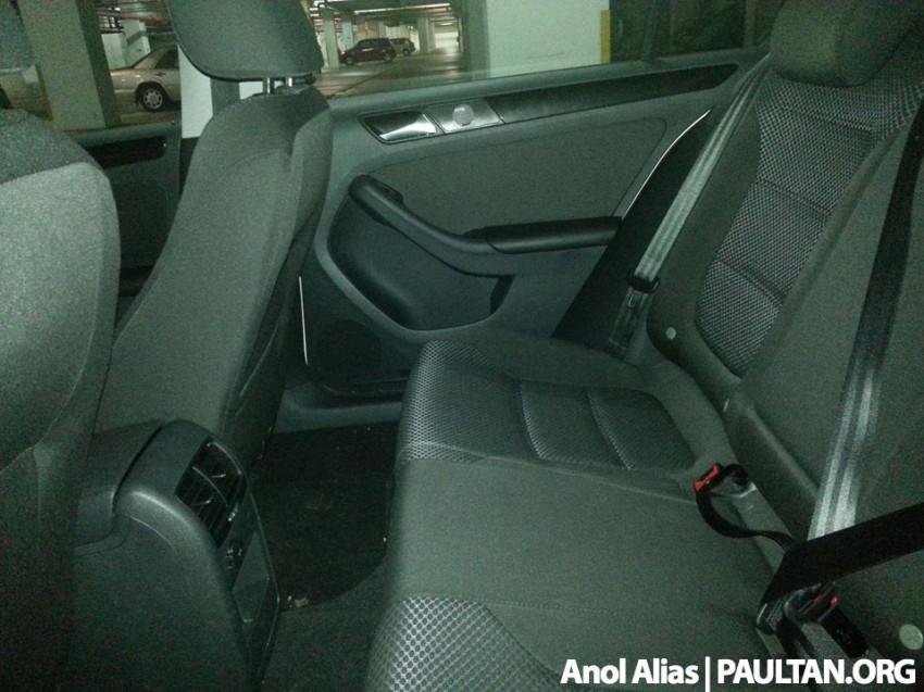 SPYSHOTS: Volkswagen Jetta CKD fully uncovered Image #223624