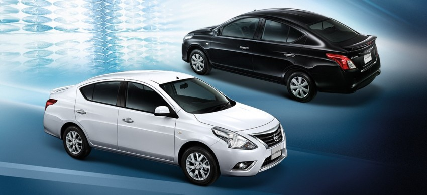 Nissan Almera facelift launched in Thailand Image #224887
