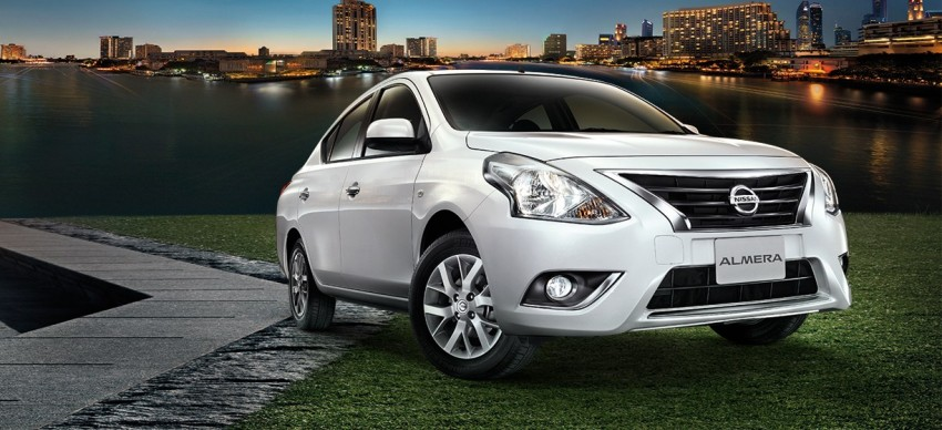 Nissan Almera facelift launched in Thailand Image #224888