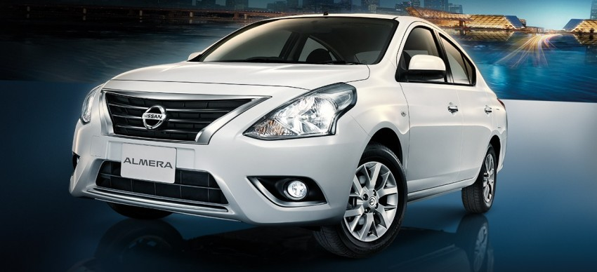 Nissan Almera facelift launched in Thailand Image #224890