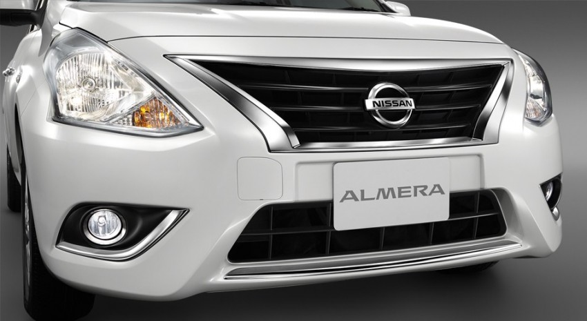 Nissan Almera facelift launched in Thailand Image #224892