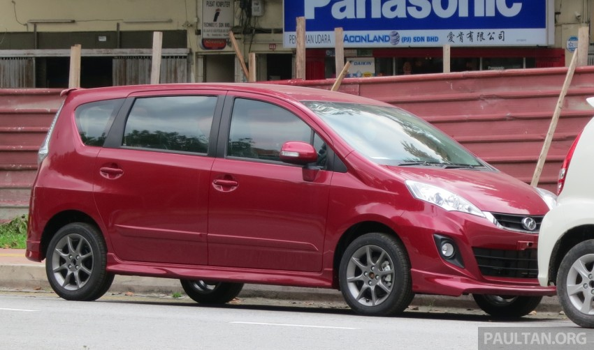 SPIED: 2014 Perodua Alza SE exposed before launch Image #221216