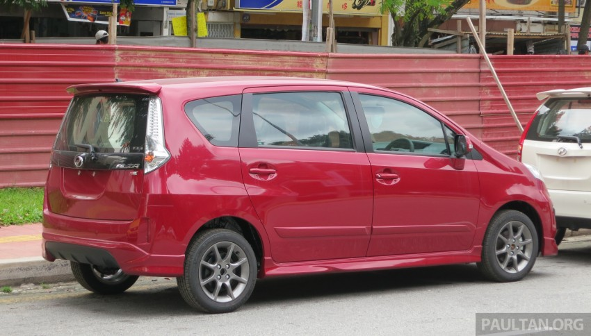 SPIED: 2014 Perodua Alza SE exposed before launch Image #221218