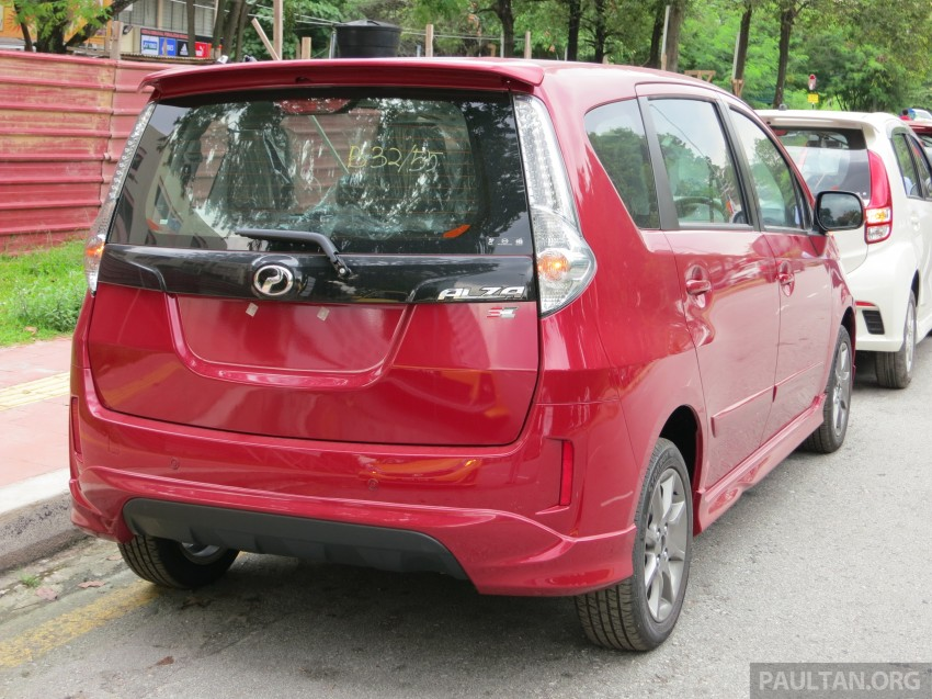 SPIED: 2014 Perodua Alza SE exposed before launch Image #221219