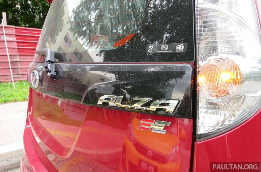 SPIED: 2014 Perodua Alza SE exposed before launch Image #221221
