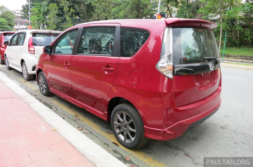 SPIED: 2014 Perodua Alza SE exposed before launch Image #221222