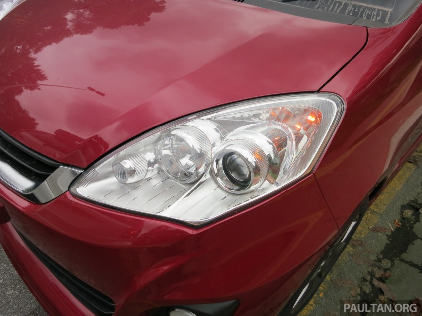 SPIED: 2014 Perodua Alza SE exposed before launch Image #221225