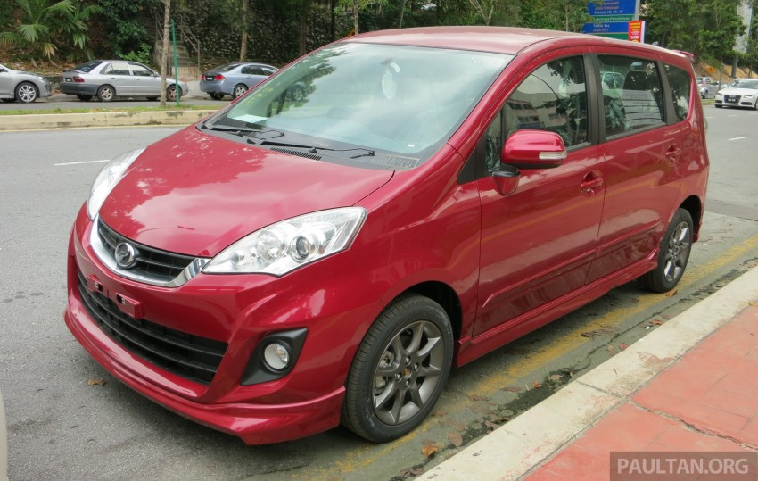 SPIED: 2014 Perodua Alza SE exposed before launch Image #221226