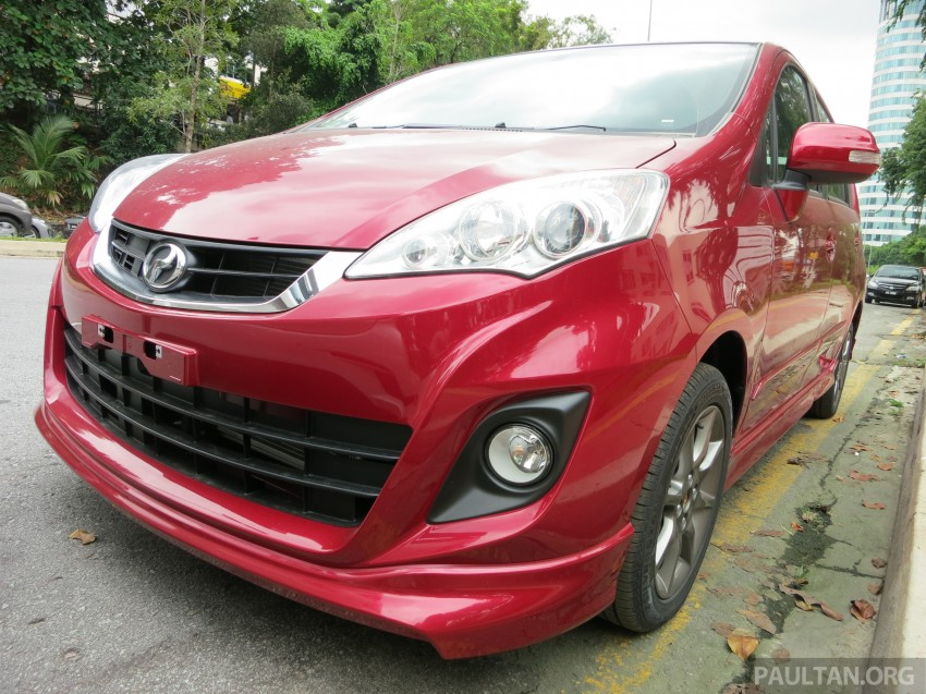 SPIED: 2014 Perodua Alza SE exposed before launch Image #221227