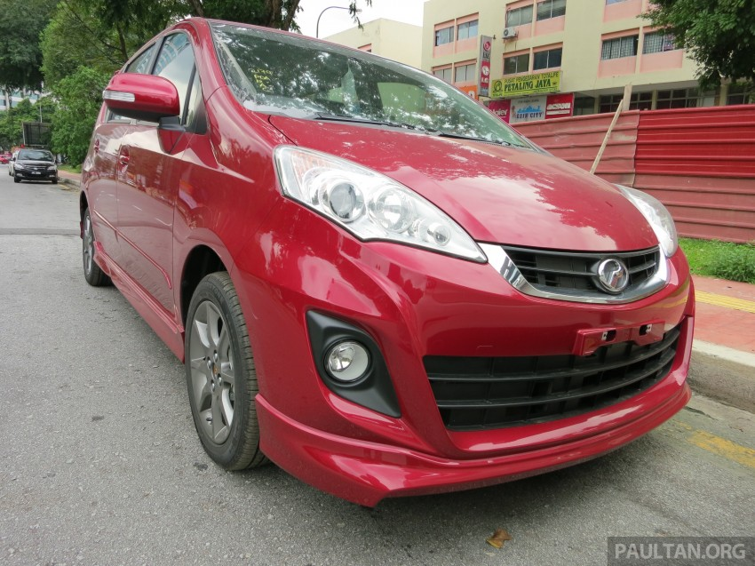 SPIED: 2014 Perodua Alza SE exposed before launch Image #221228