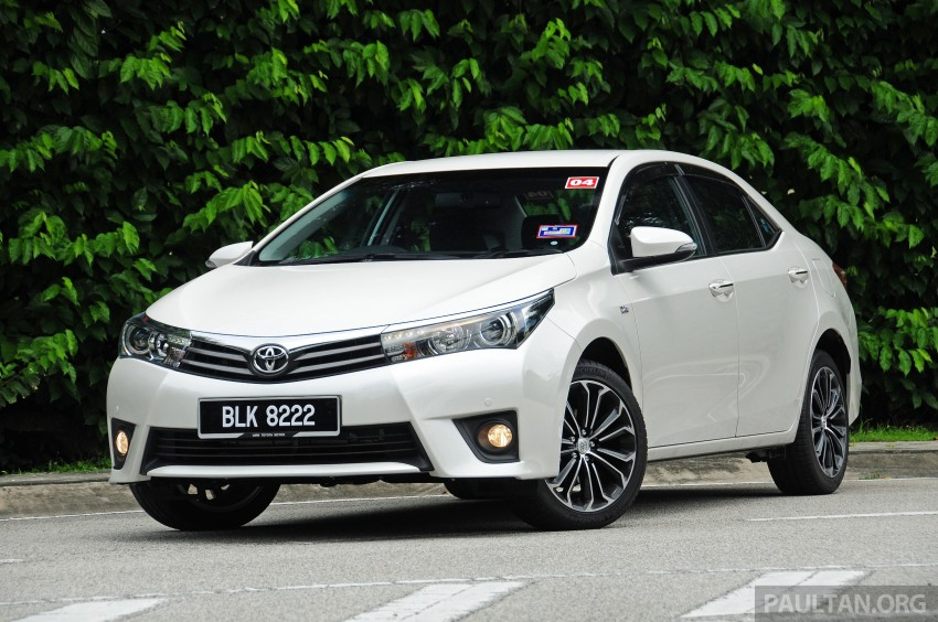 GALLERY: Old and new Toyota Corolla Altis compared Image #222562