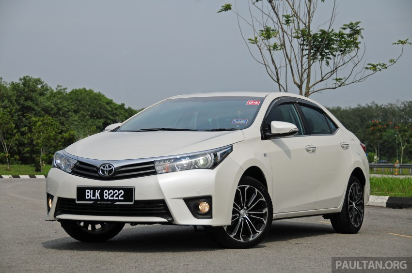 DRIVEN: 2014 Toyota Corolla Altis 2.0V on local roads Paul ...